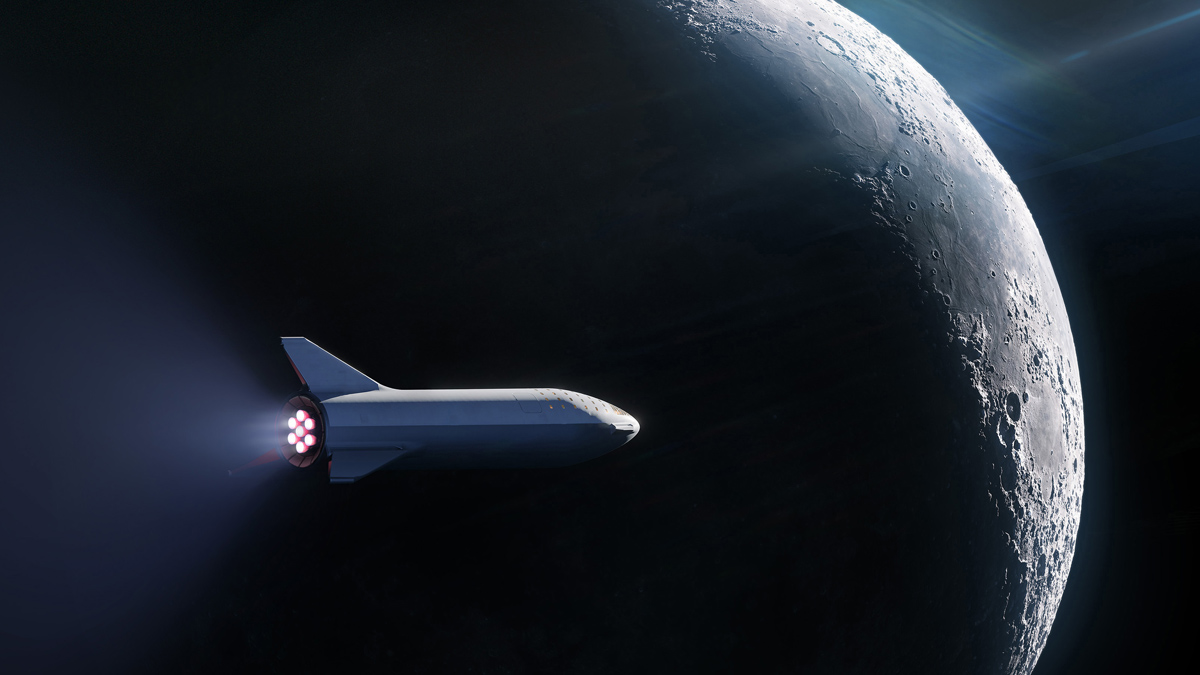 SpaceX Starship Orbit