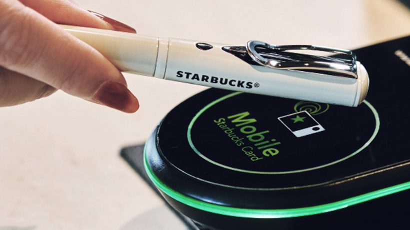 Starbucks Touch The Pen
