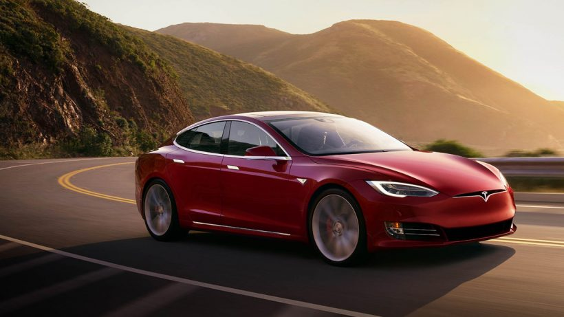 Watch Tesla's Model S set a record lap at Laguna Seca