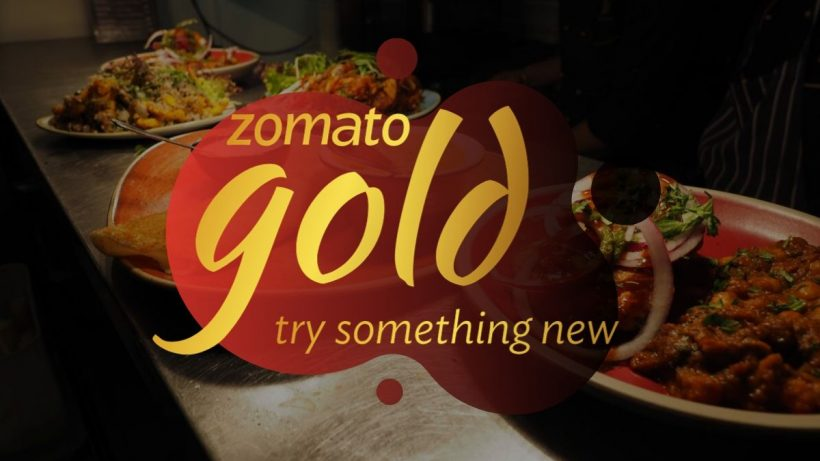 Zomato Gold on Food Delivery