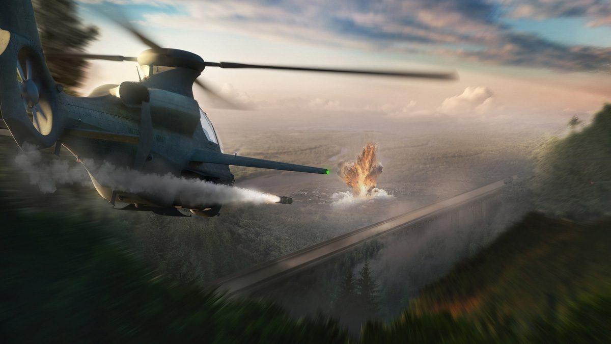 360 Invictus Attack Helicopter