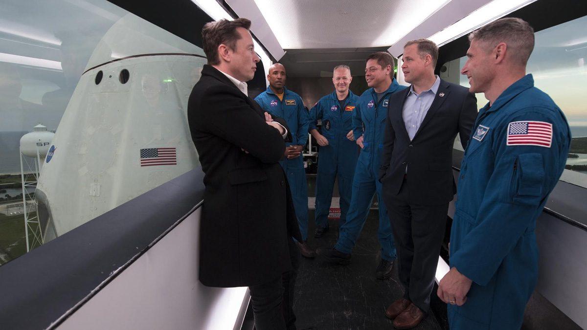 Elon Musk And Nasa