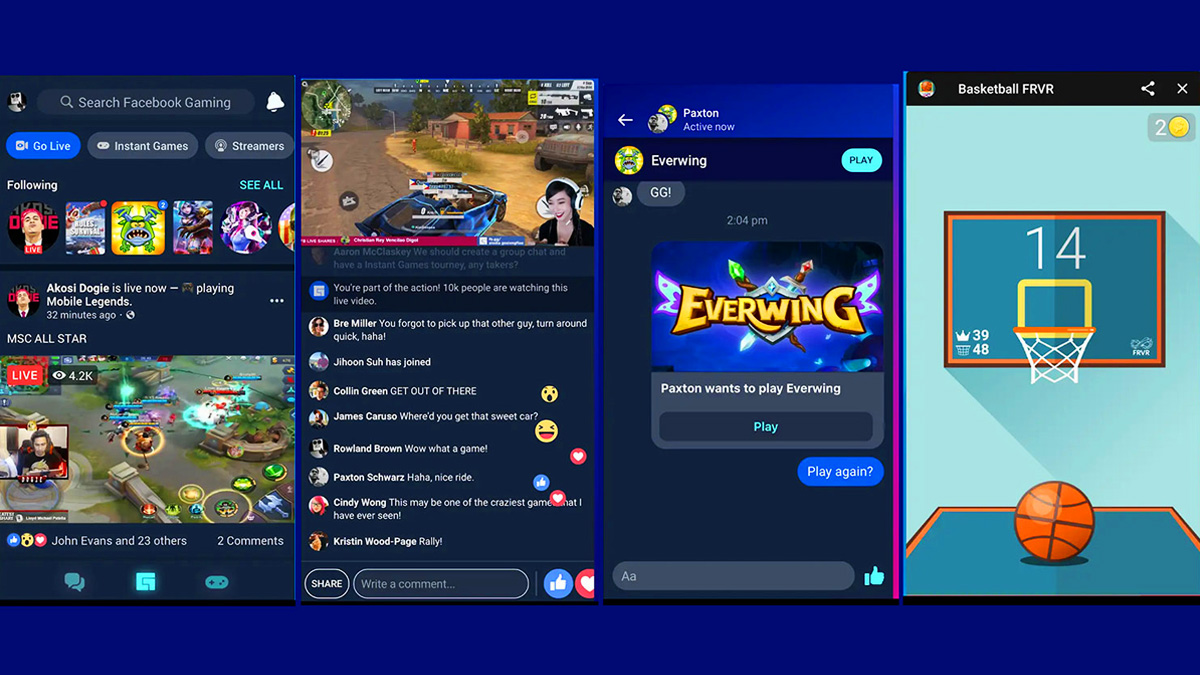 Facebook Launches Gaming On Android