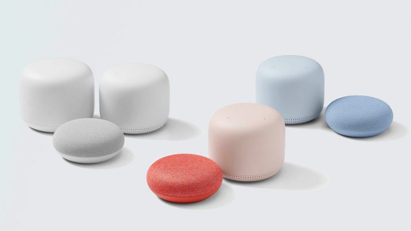 Google announces two smart home devices – Nest Mini and Nest Wifi
