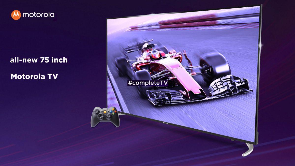 Motorola 75 Inch TV