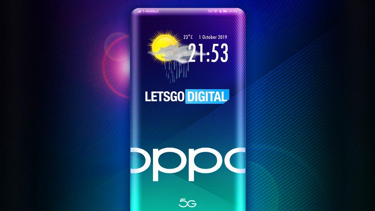 Oppo Smartphone with Sensor