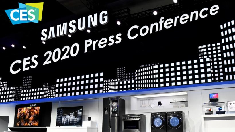Samsung CES 2020 Press