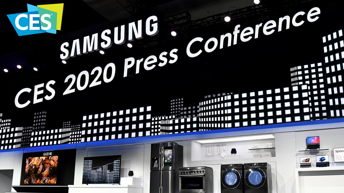 Samsung CES 2020 Press