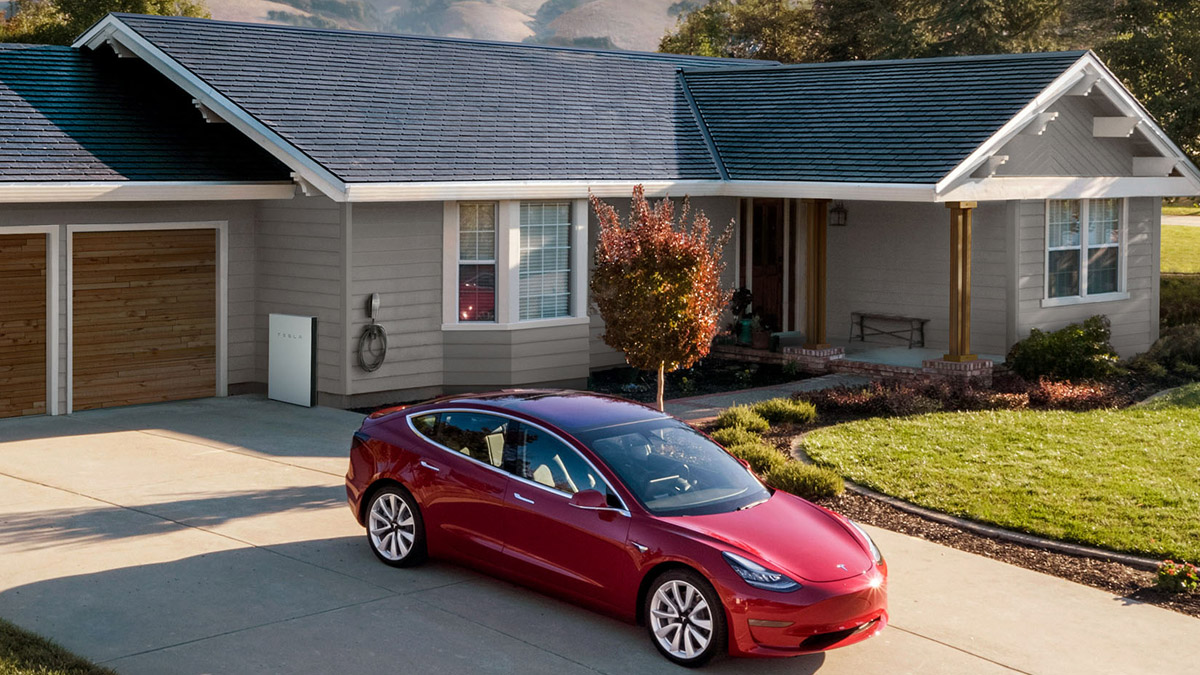Tesla New Solar Roof