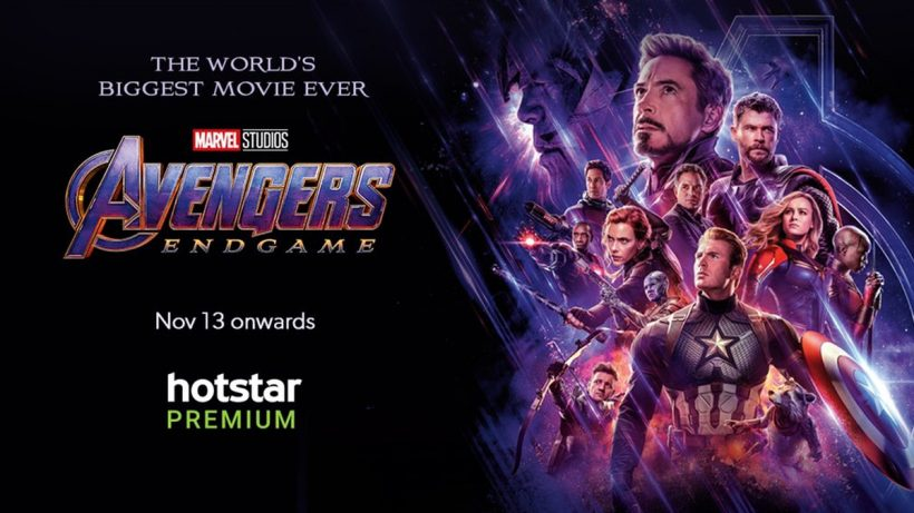 Avengers Endgame On Hotstar