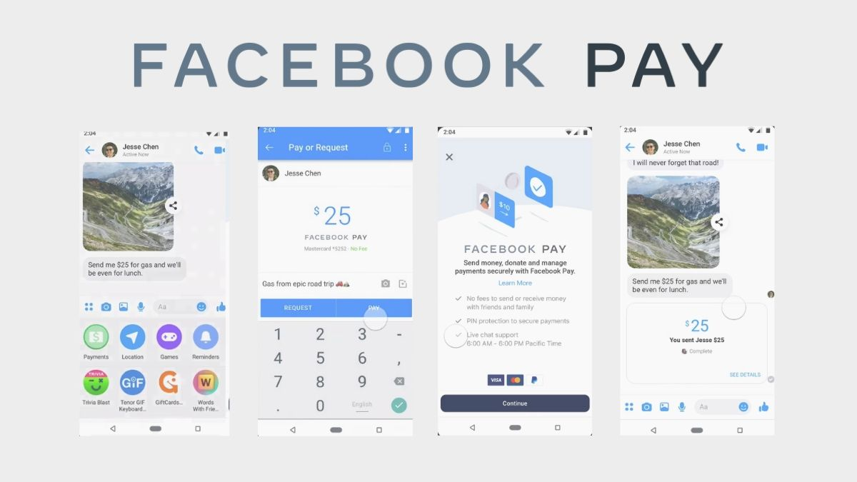 Facebook Pay Payments