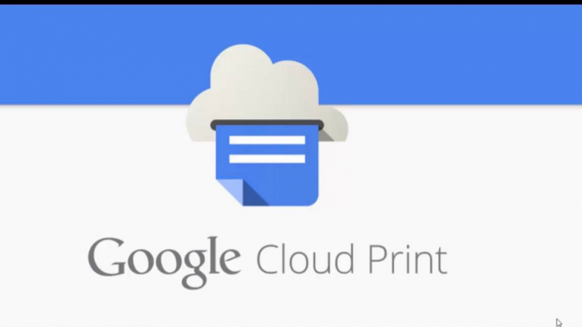 Google Cloud Print For Chrome