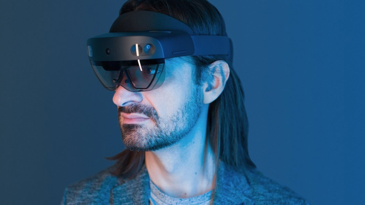 Microsoft Mixed Reality Hololens 2 Headset