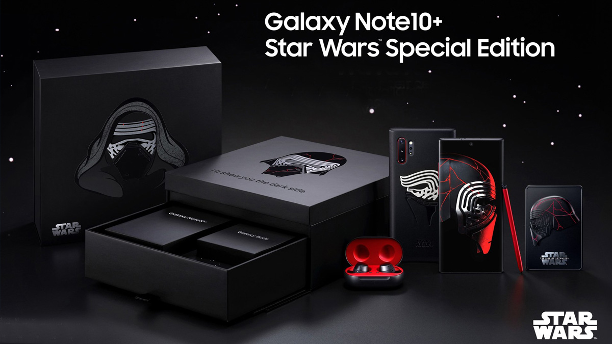 Samsung Galaxy Note 10 Plus Star Wars Limited Edition