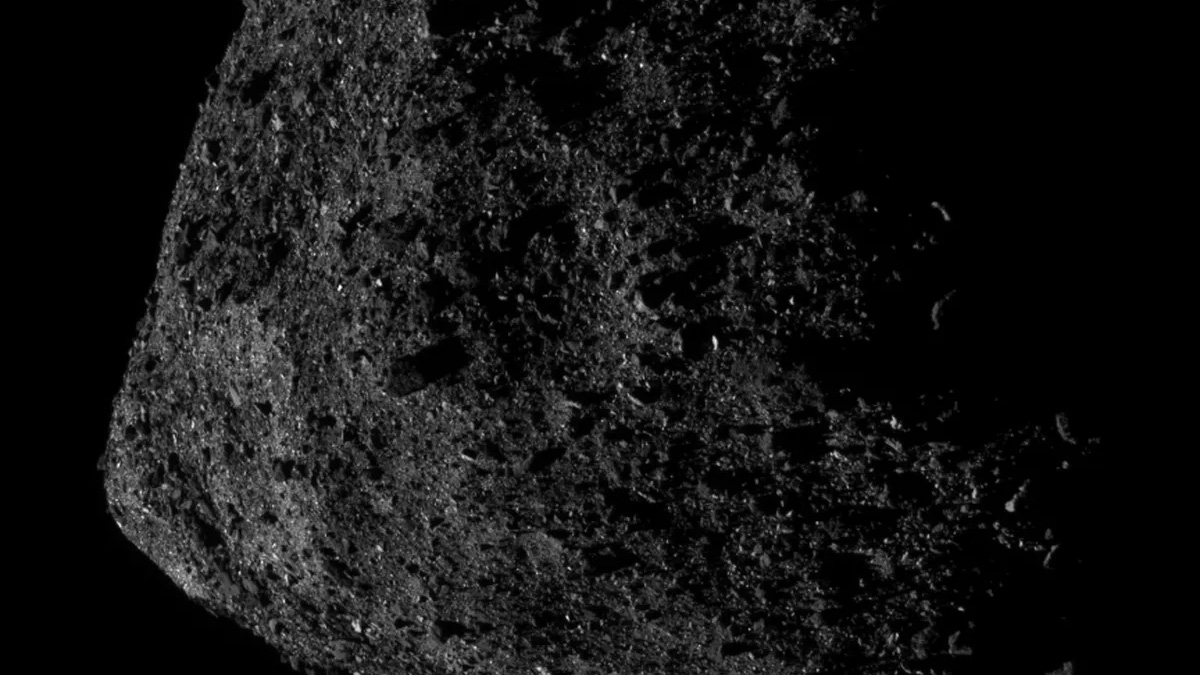 Asteroid Rock Explosions