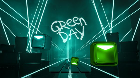 Beat Saber Green Day