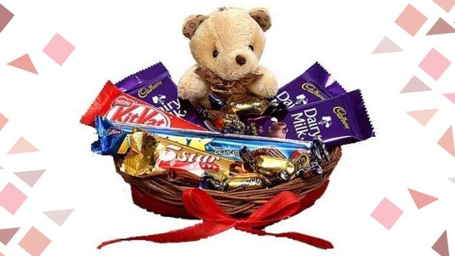 Chocolate Teddy Gift Hamper