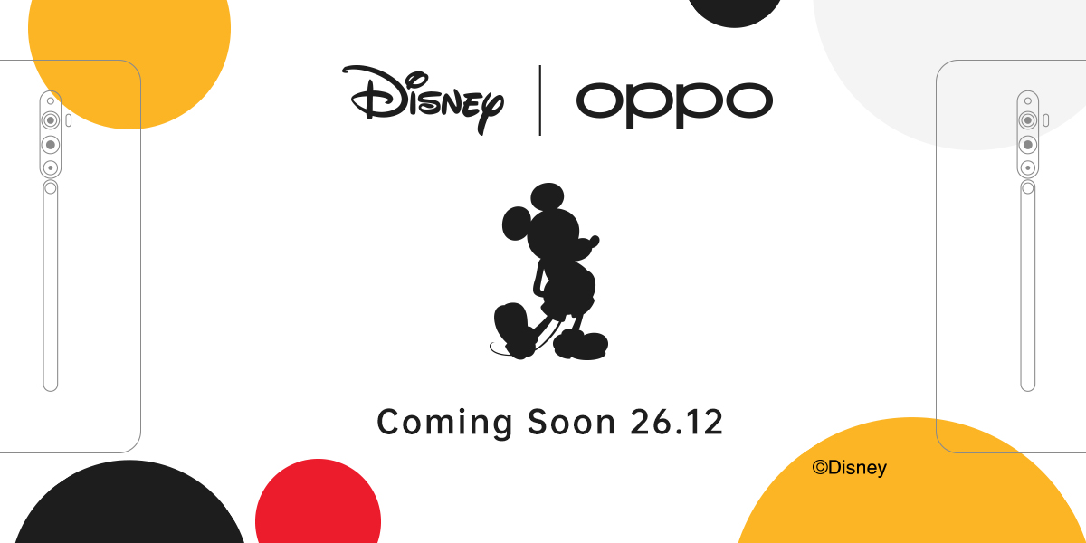 Oppo Disney Collaboration