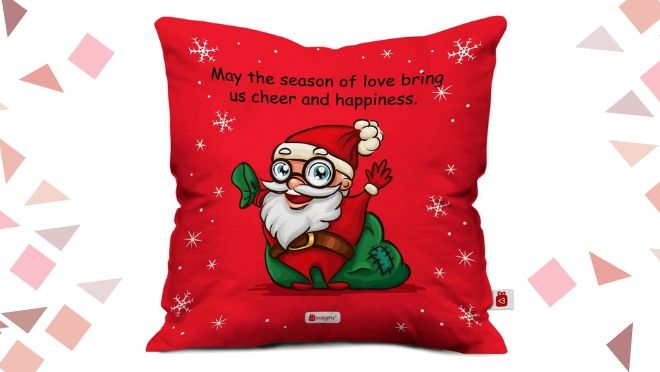Secret Santa Gift Santa Cushion