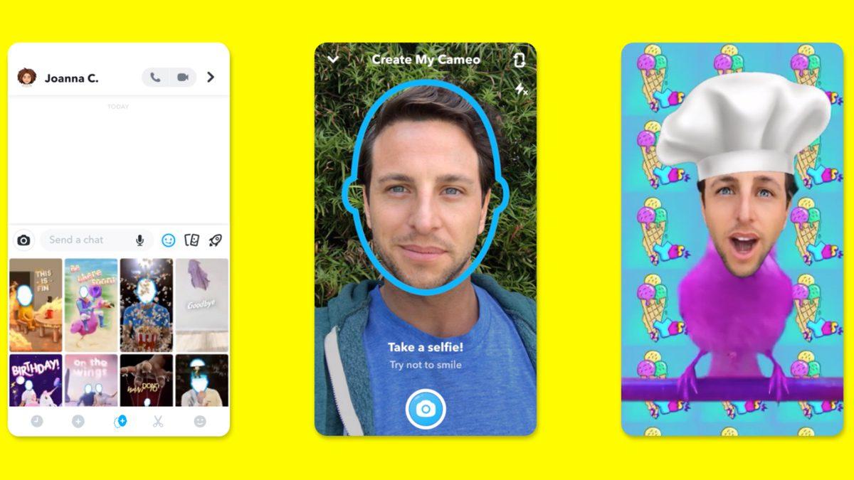 Snapchat Cameos