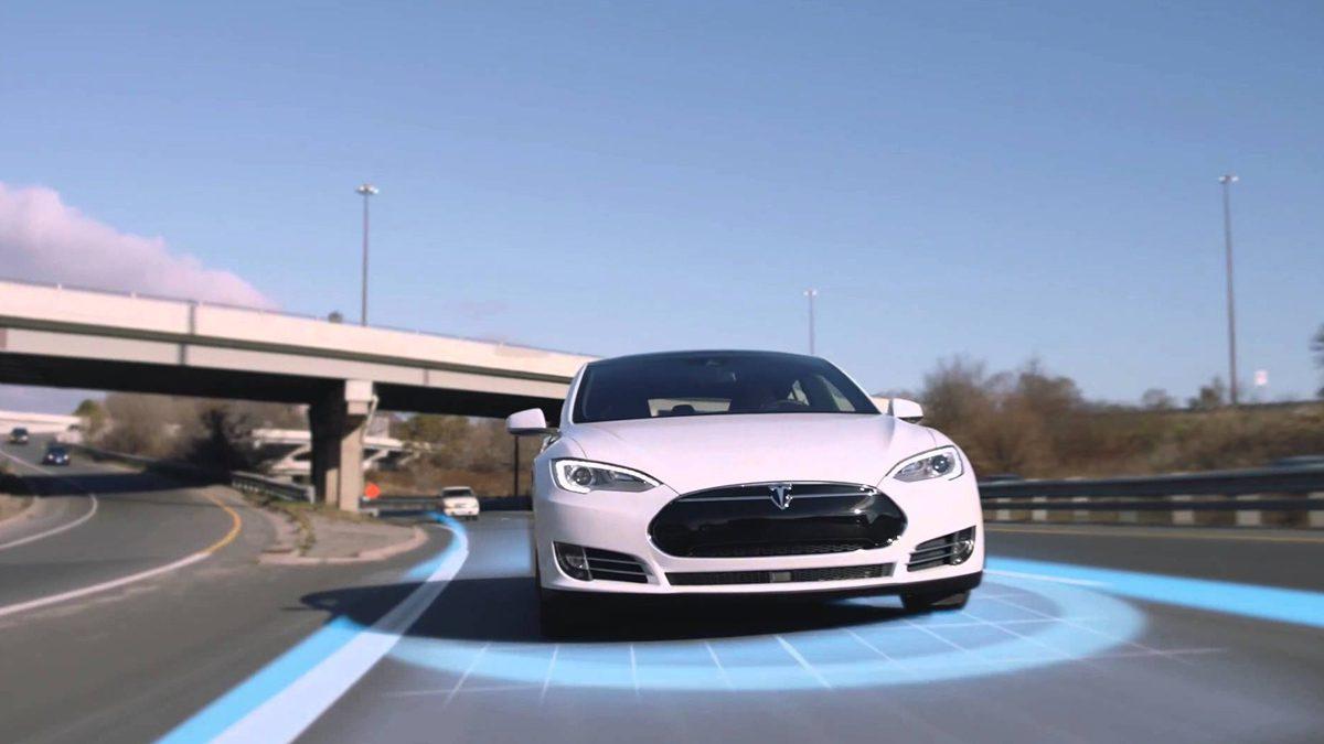 Tesla Nap Mode sleep while driving