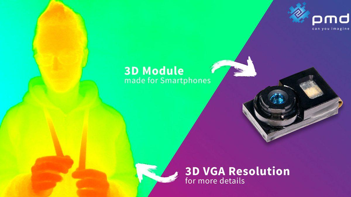 PMD Technologies 3D VGA Module