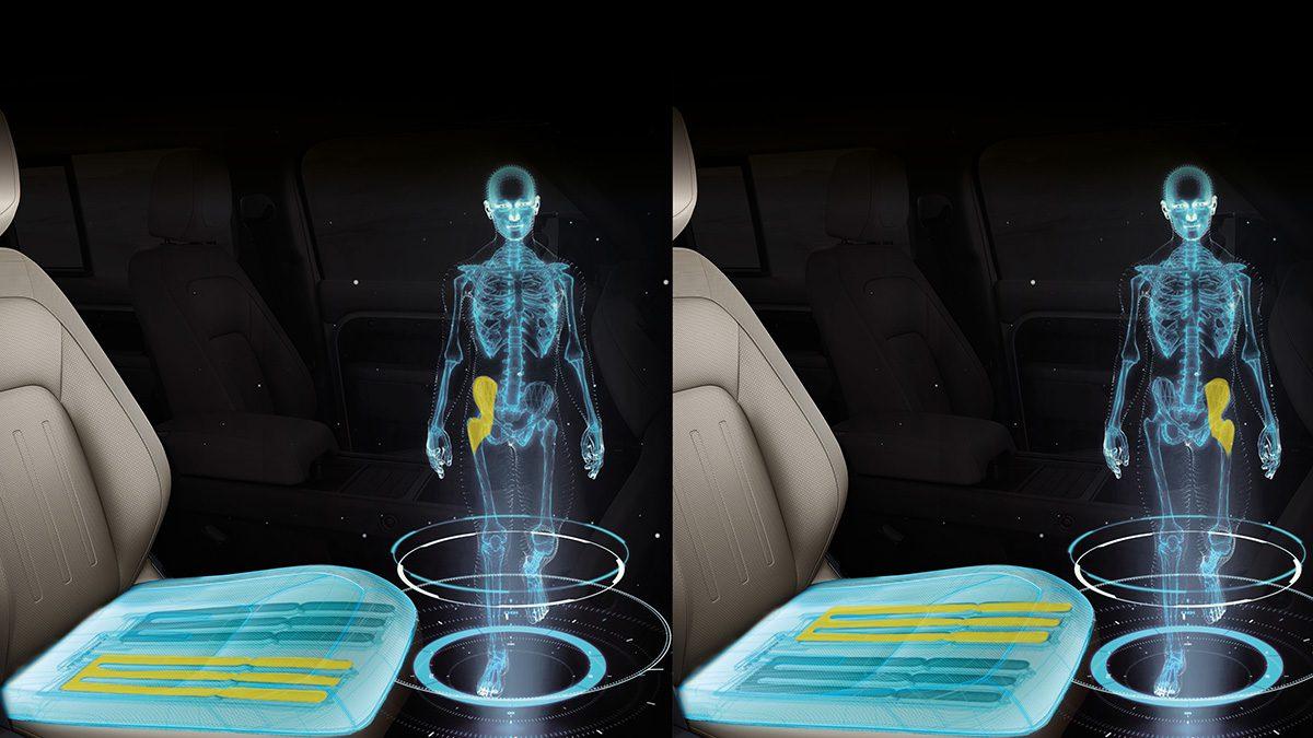 Jaguar Morphable Seat