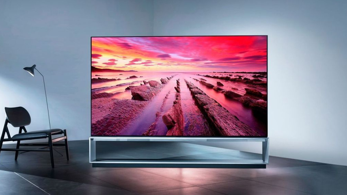 LG 65 Inch Rollable OLED TV