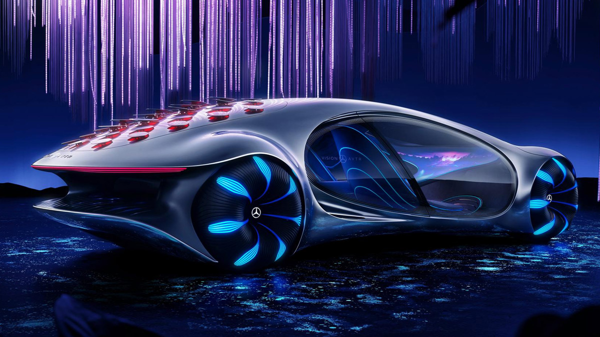 Mercedes Benz Vision Avatar