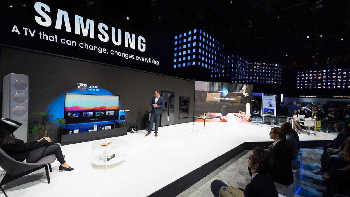 Samsung OLED TV Screen