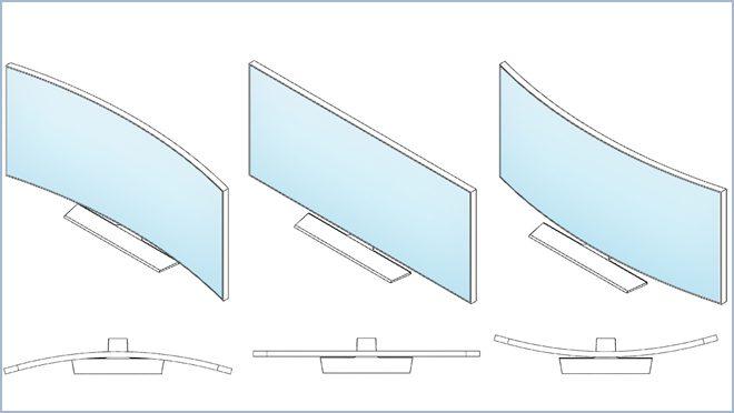 Samsung Flexible OLED TV