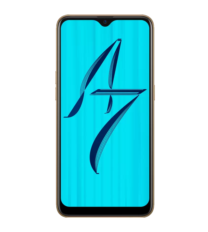 Oppo A7 Front