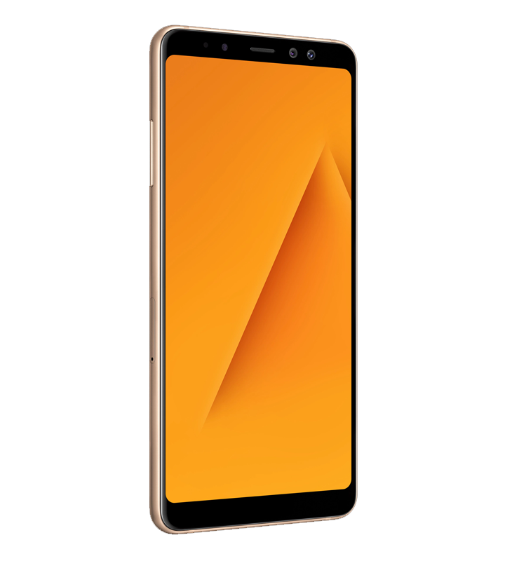 Samsung Galaxy A8+ Display