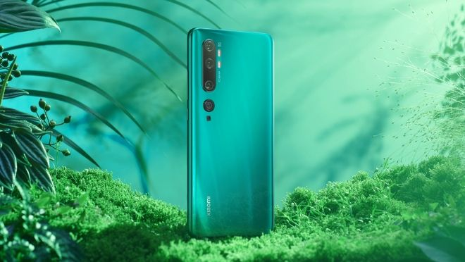 Xiaomi Mi Note 10 Series 108 MP rear Camera