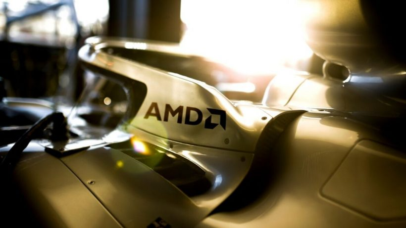 Mercedes Partners With AMD