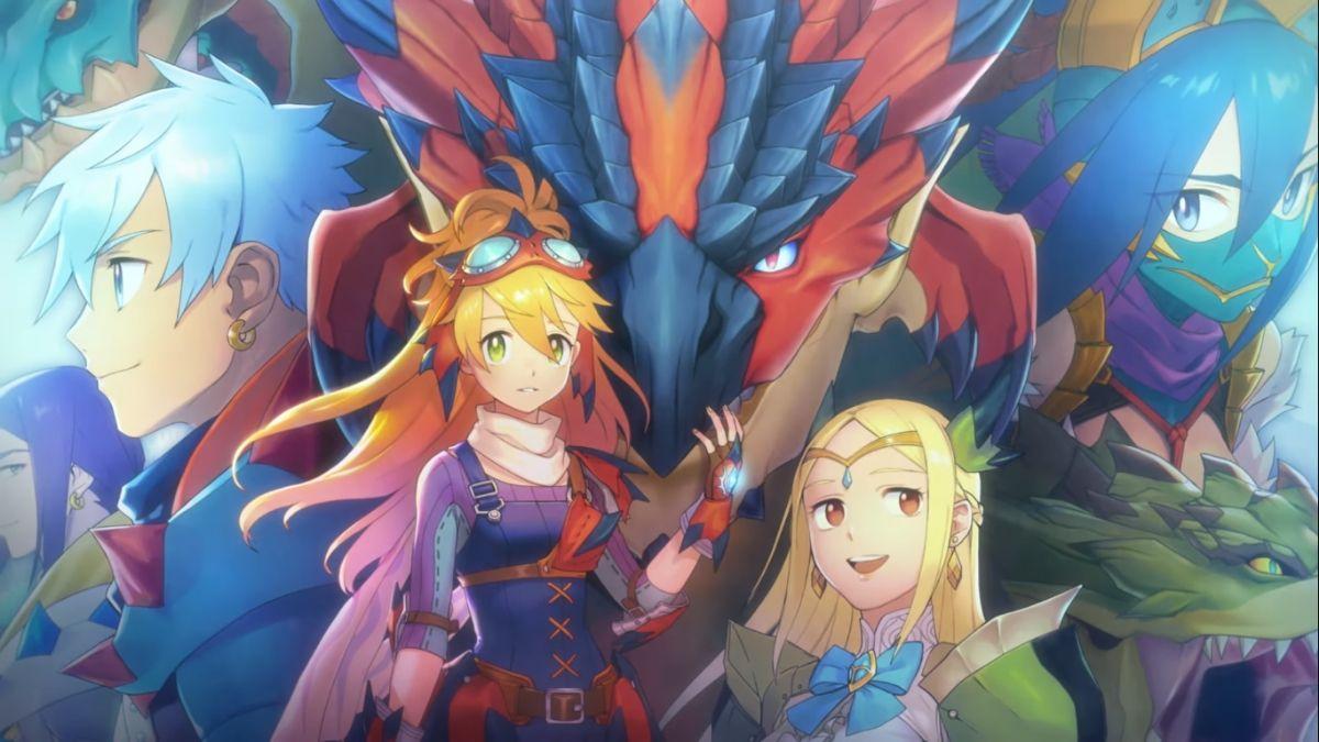 Capcom's Monster Hunter Riders
