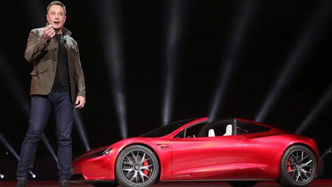 Tesla First Vehicle