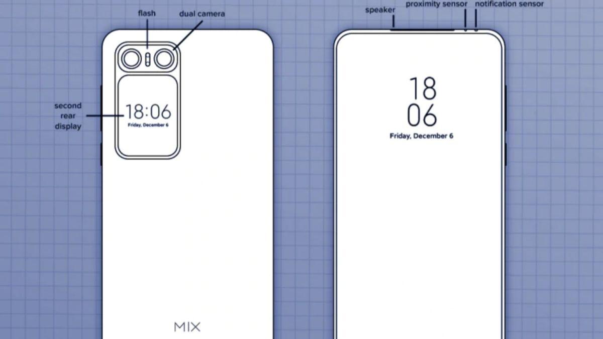 Xiaomi Mi Mix Patent