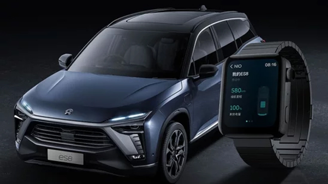 Control Nio Cars with Watch