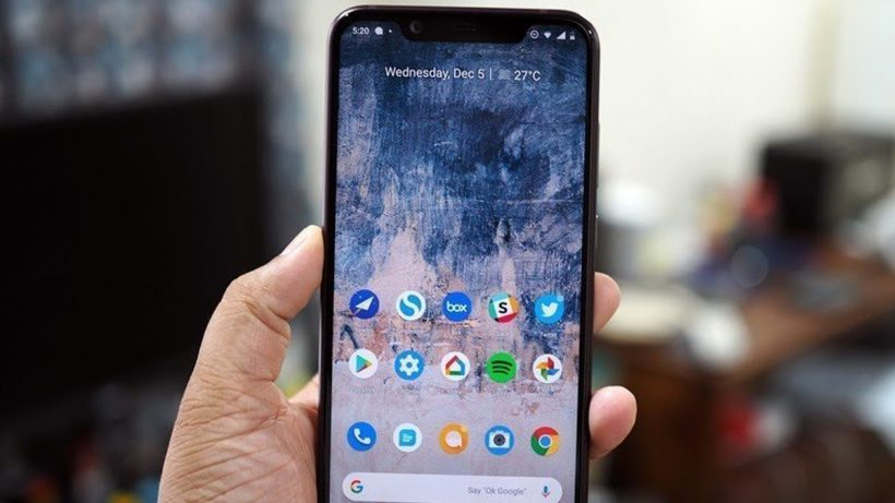 Nokia 8.1 Screen