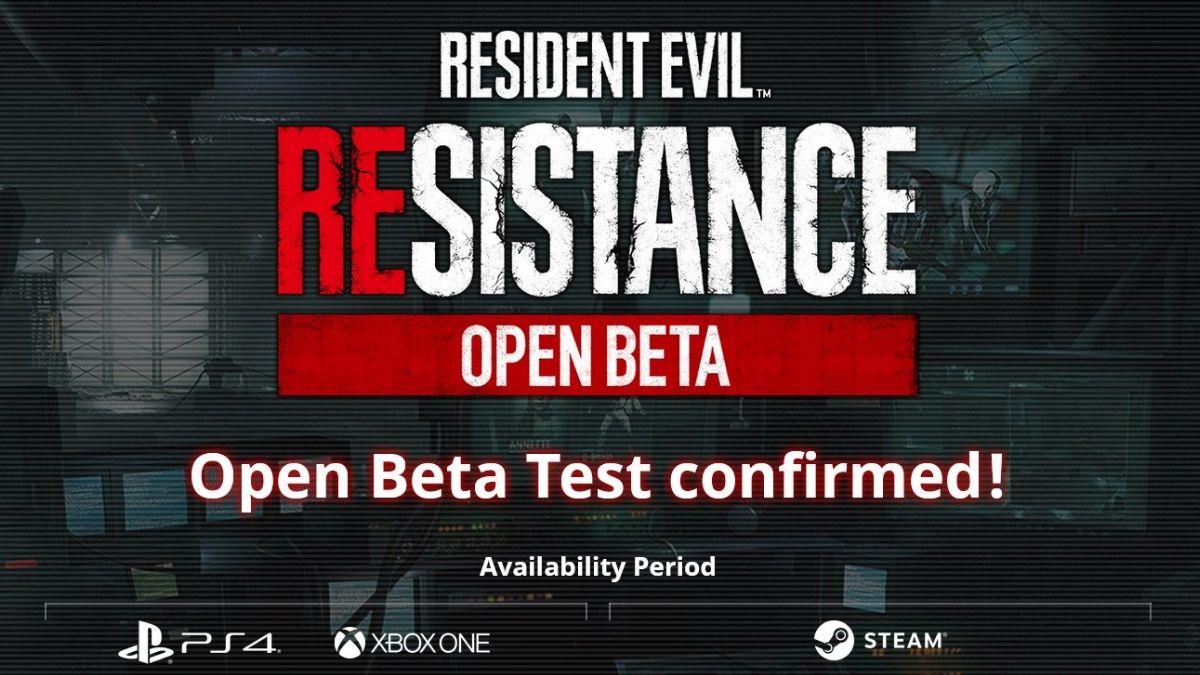 Resident Evil Resistance Open Beta