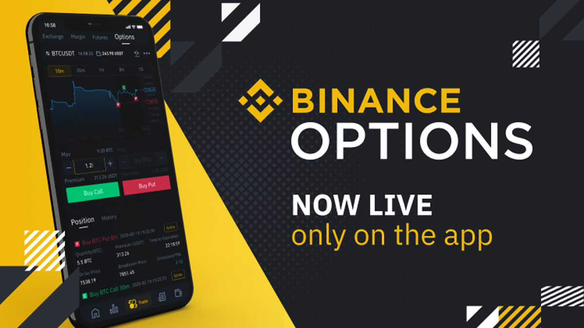 Binance Trading Mobile App