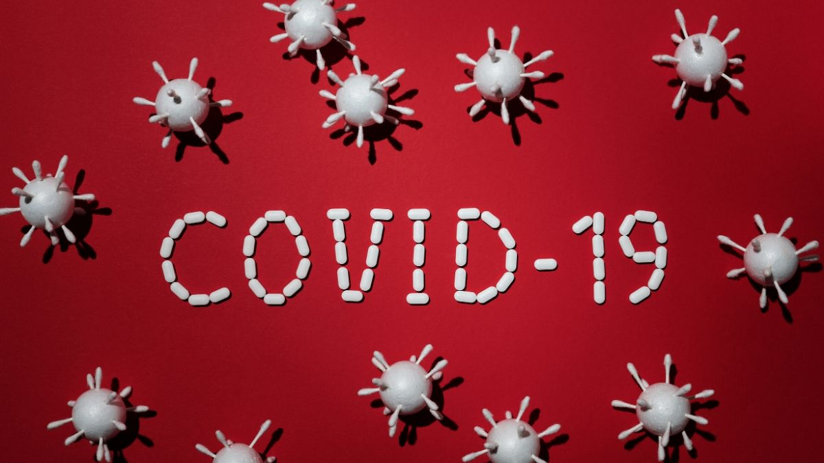 COVID-19 Photo In Red