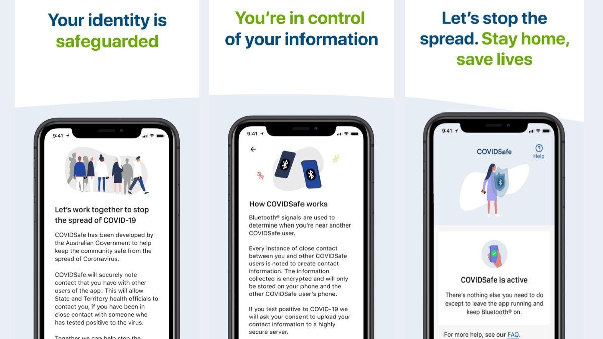 COVIDSafe australian tracing contact app