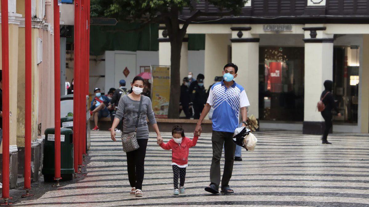 Family Walking Mask