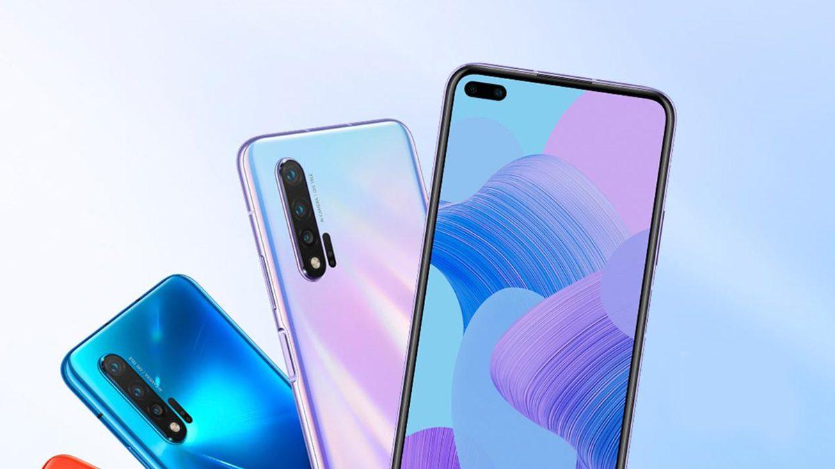 Huawei Nova 7 Lineup Smartphones
