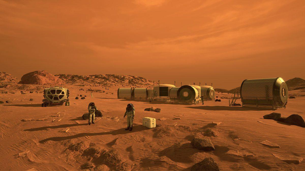 Human Mars Mission