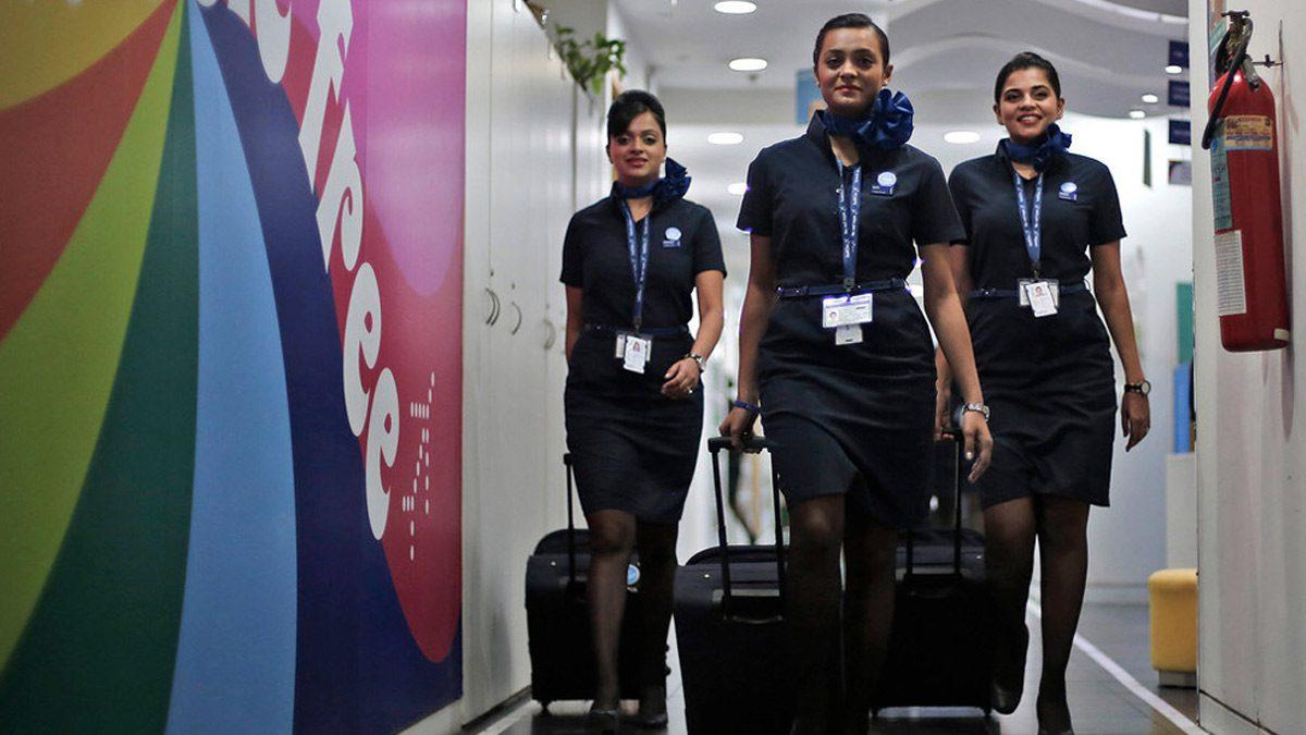 Indigo Flight Attendant