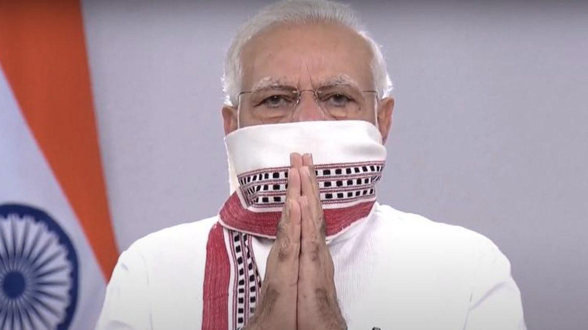 Narendra Modi Announcing Lockdown