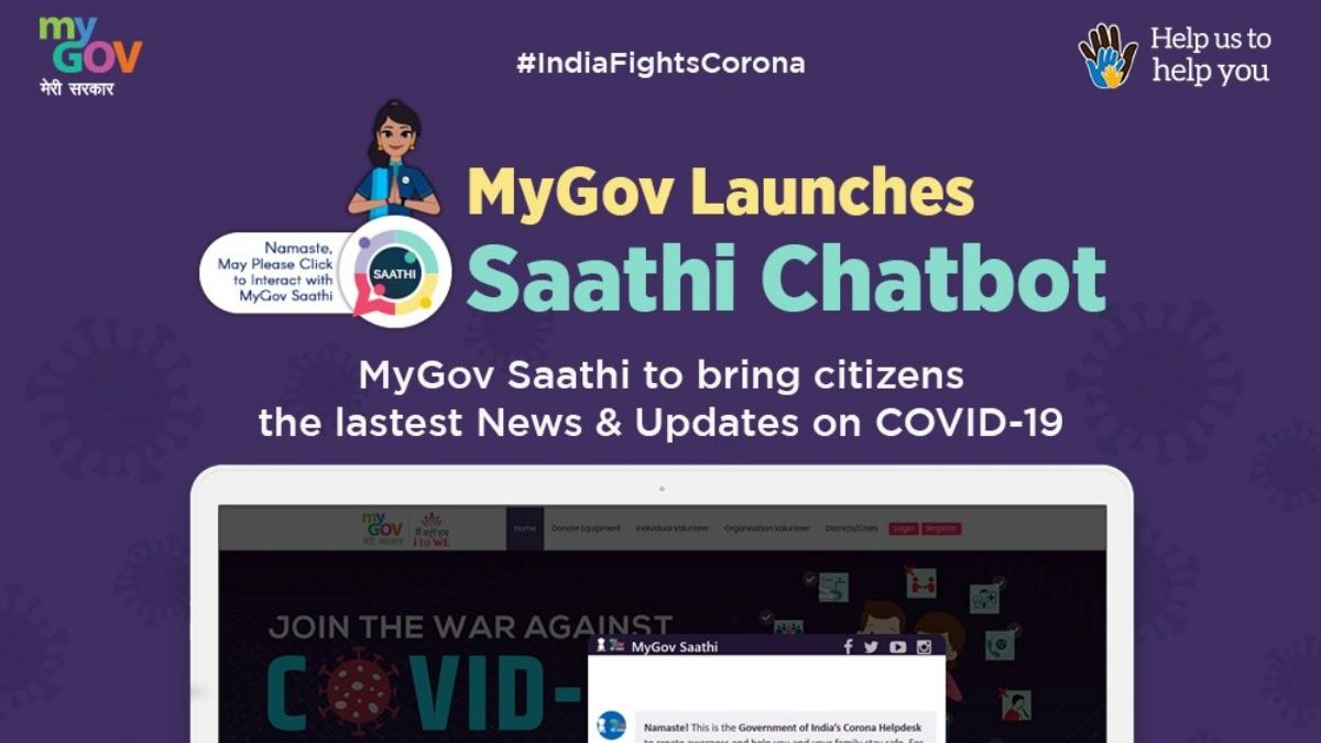 MyGov Launches Saathi Chatbot